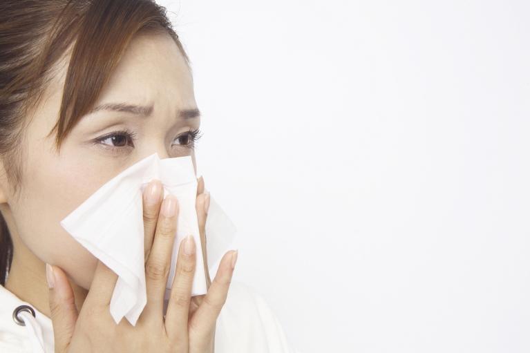 アレルギー性鼻炎と花粉症